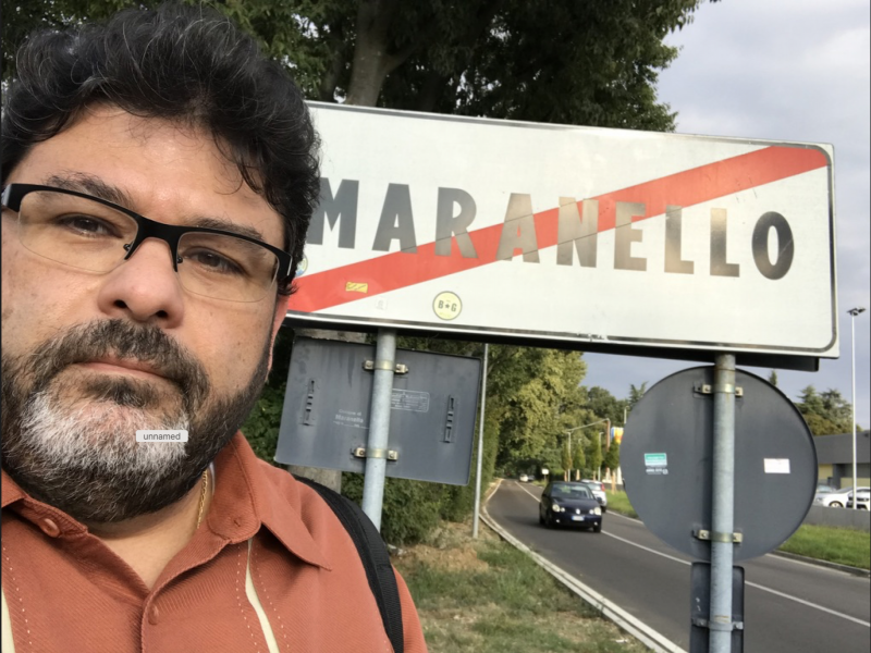 Maranello, Italy. Our arrival.