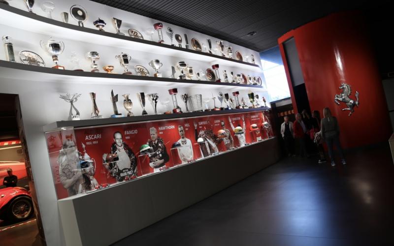 Ferrari Trophy Room (Museo Ferrari)